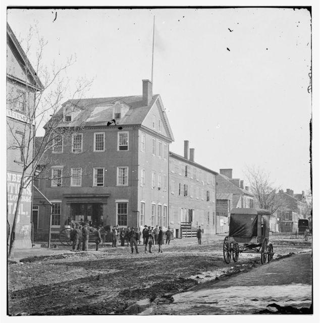 Alexandria, Virginia. The Marshall house, King & Pitt Streets