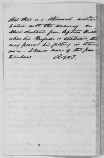Ambrose W. Thompson to Francis P. Blair Sr., Monday, November 18, 1861  (Chiriqui Improvement Co.)