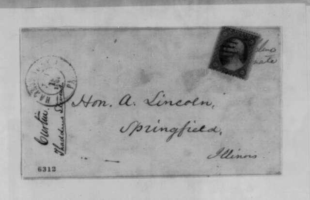 Andrew G. Curtin to Abraham Lincoln, Thursday, January 17, 1861  (Recommendation for Thaddeus Stevens)