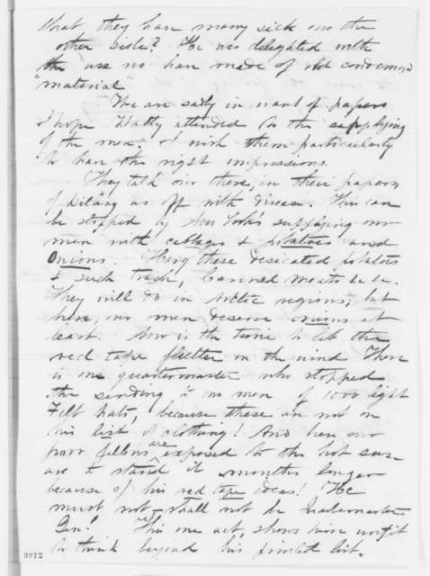 Andrew Webb to James W. Webb, Sunday, May 19, 1861  (Situation at Fort Pickens; with endorsement from James Watson Webb to AL, June 8, 1861)