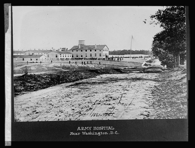 Army Hospital near Washington, D.C., 1861-65