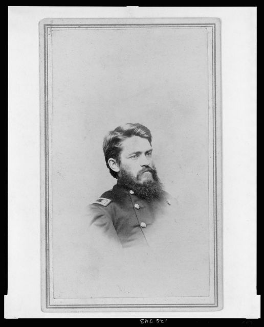 [B. F. Sceva, Lt. Col., 10th N.Y. Cavalry Regiment, head-and-shoulders portrait, facing right] / G.T. Lape.
