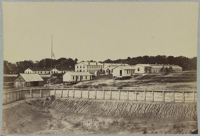 Barracks at Fort Carroll