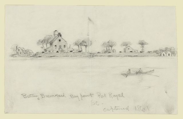 Battery Beauregard, Bay Point Port Royal, S.C., captured 1861