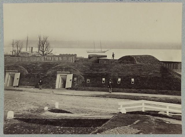 Battery Rodgers, Potomac River, near Alexandria