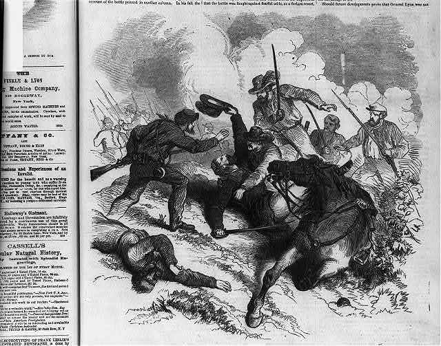 Battle of Wilson's Creek, near Springfield, Missouri