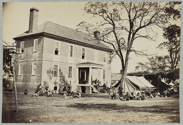 "[Bolling house originally named ""Mitchell's"" (later ""Bull Hill""), possibly located in Hopewell, Va.]"