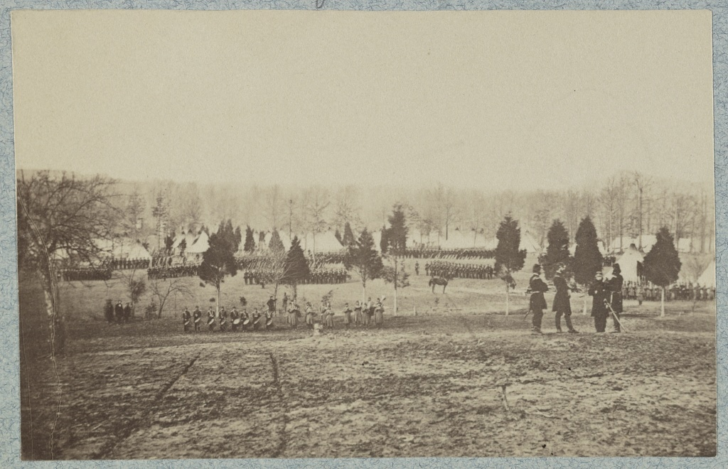 Camp of 67th New York Infantry