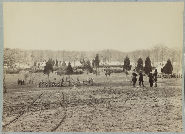 Camp of 67th New York Infantry - Camp Proctor