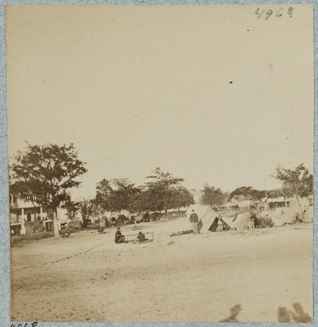 Camp of Picket-Reserves, Port Royal Island, S.C.