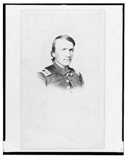 [Captain Ebenezer T. Wells, Union officer, bust portrait, facing front]