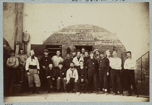 Castle Pinkney [i.e. Pinckney], Charleston, S.C., August 1861, Federal prisoners captured at battle of Bull Run, Casemate no. 1