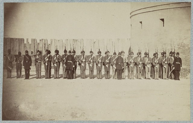 Castle Pinkney [i.e. Pinckney], Charleston, S.C. Garrison of South Carolina troops, August 1861