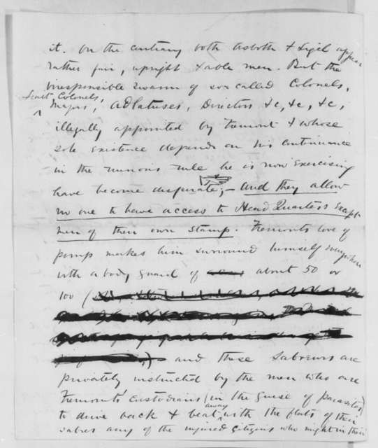 Charles G. Halpine to Thurlow Weed, Thursday, October 17, 1861  (Fremont and situation in Missouri)