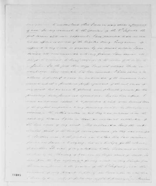Charles J. Faulkner to William H. Seward, Monday, August 19, 1861  (Imprisonment)