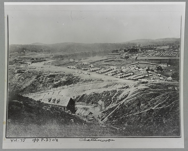 Chattanooga, Tenn. View of Army camp
