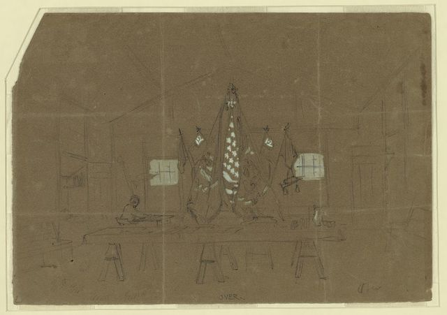 Col. Butterfields headquarters, Camp Anderson D[C]