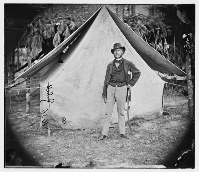 Col. Ernest M.P. Von Vegesack, 20th New York Infantry  (Captain in Swedish army)