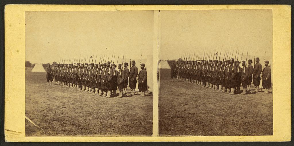 Company E, 5th Regiment N.Y. Zouaves, Colonel Duryee, at Camp Butler, near Fortress Monroe, Va. / George Stacy.