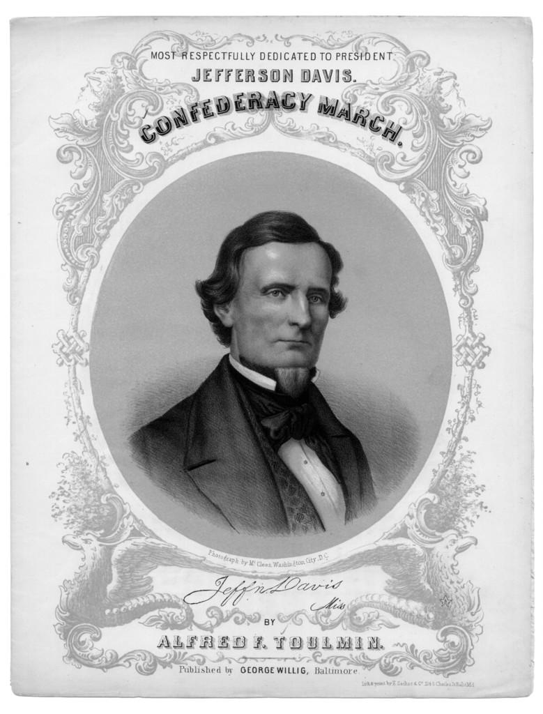 Confederacy march