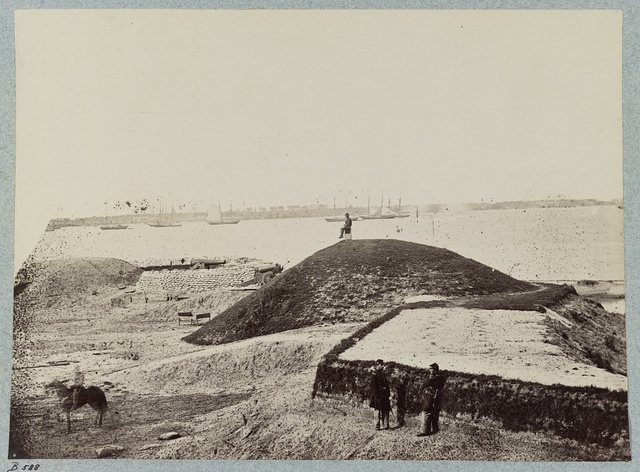 Confederate fortifications, Yorktown, Va.