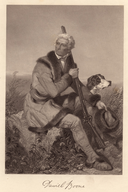 Daniel Boone : from the original painting by Chappel in the possession of the publishers