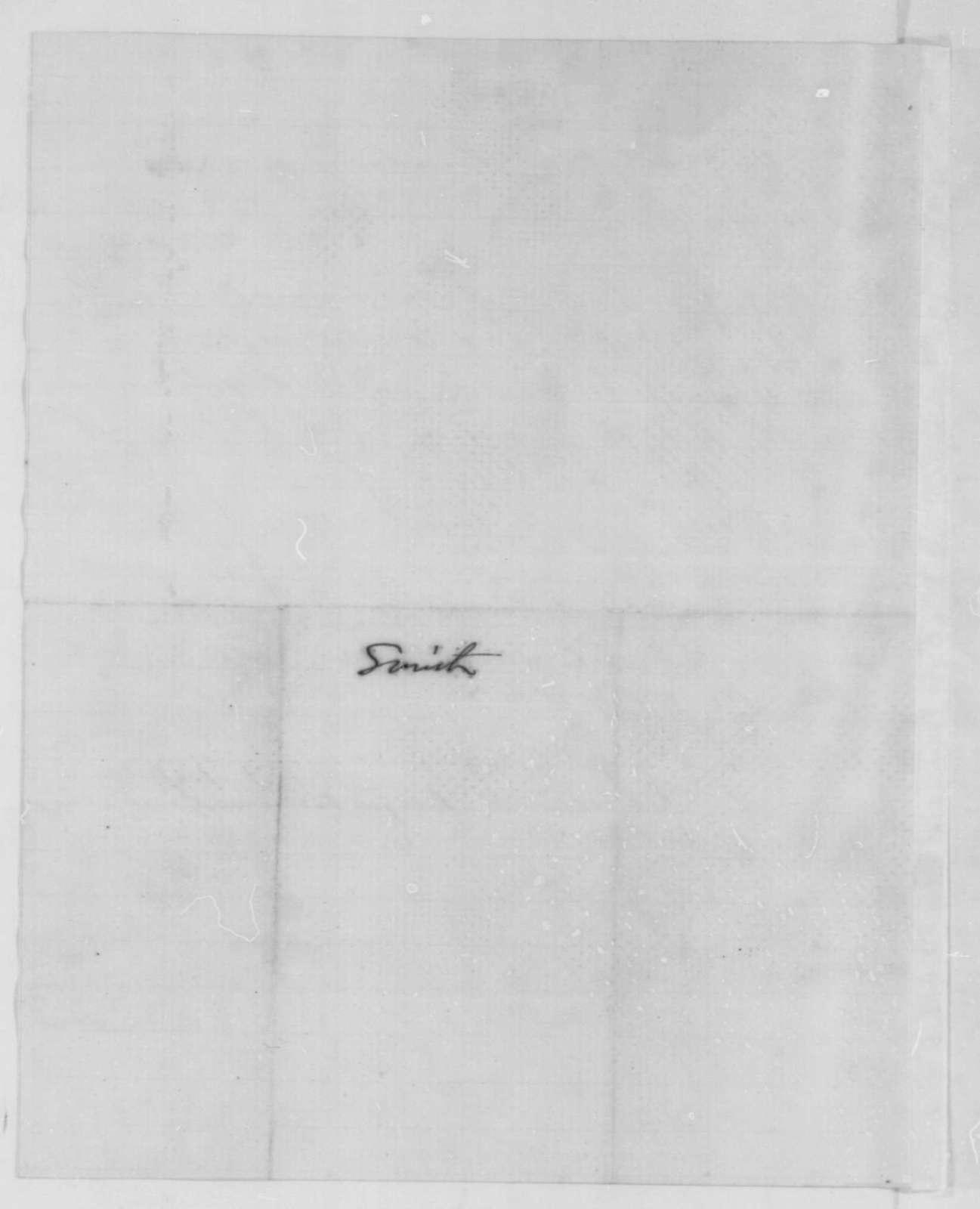 David W. Cheesman and John P. Zane to Abraham Lincoln, February 1861  (Recommend Caleb Smith for cabinet)