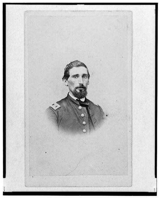 [Dr. John M. Gray, surgeon for the 39th Indiana Regiment,  head-and-shoulders portrait, facing front] / Cox & Clark, Metropolitan Photograph Gallery, Indianapolis.