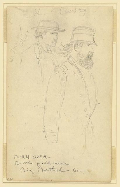 Dr. Townsend, Phila. [and] Lieut Crosby