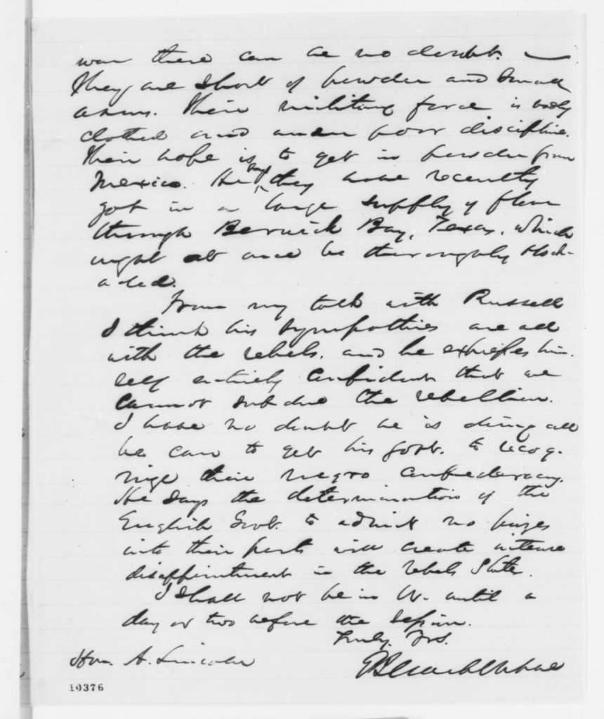 Elihu B. Washburne to Abraham Lincoln, Thursday, June 20, 1861  (Report on affairs at Cairo, Illinois)
