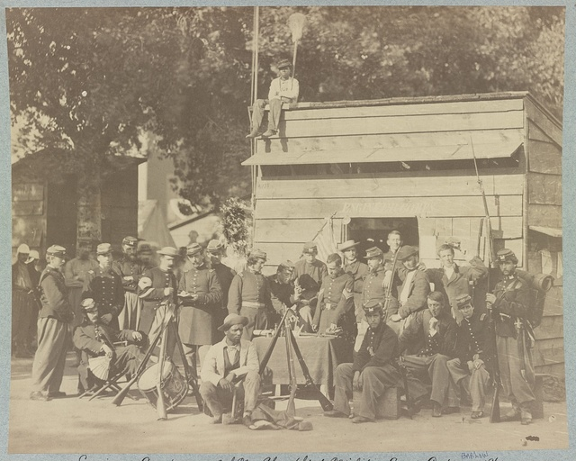 Engineer Company, 12th New York State Militia, Camp Anderson, 1861