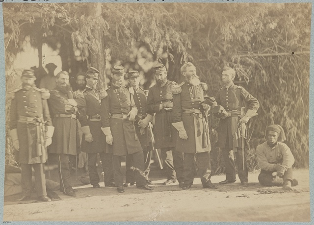 Field and staff officers of 33d New York Infantry, Camp Granger, near Washington, D.C.