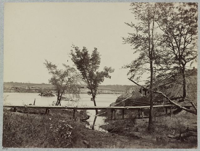 Fort Darling, Drewry's Bluff, James River, Va.