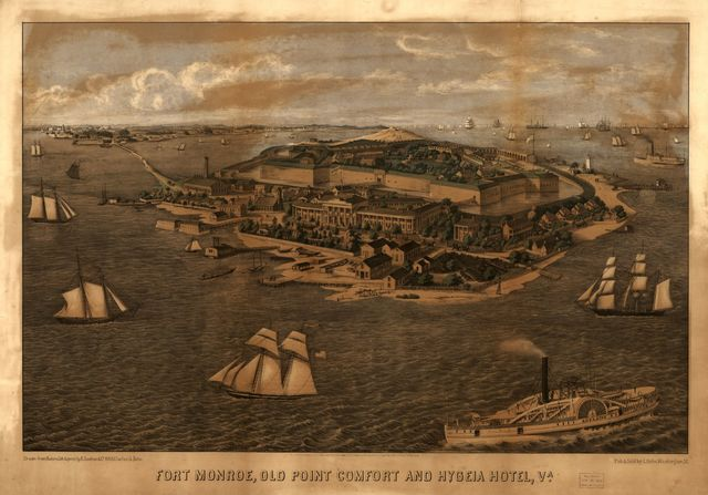 Fort Monroe, Old Point Comfort and Hygeia Hotel, Va.