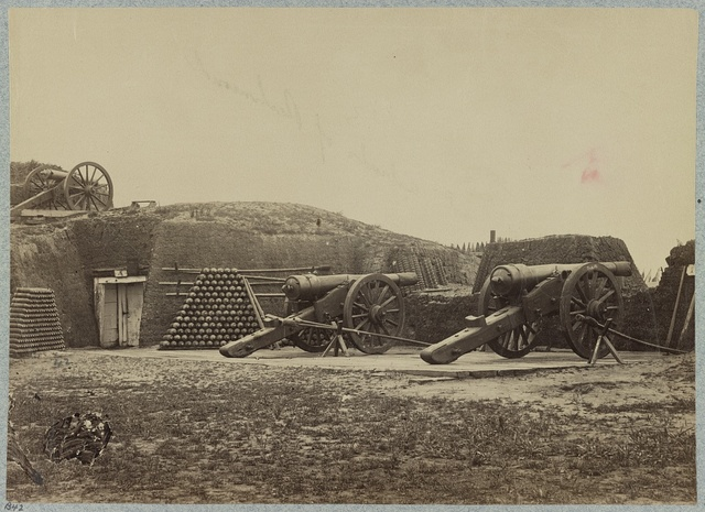 Fort Putnam, previously Confederate Battery Gregg, Morris Island, S.C.