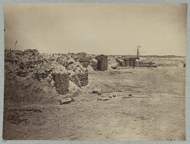 Fortifications on the Petersburg lines