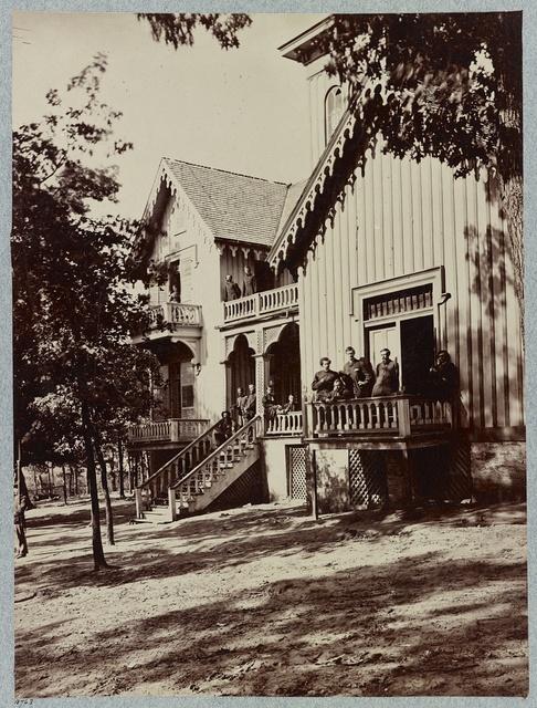 Gen. Hooker's Headquarters, Lookout Mountain
