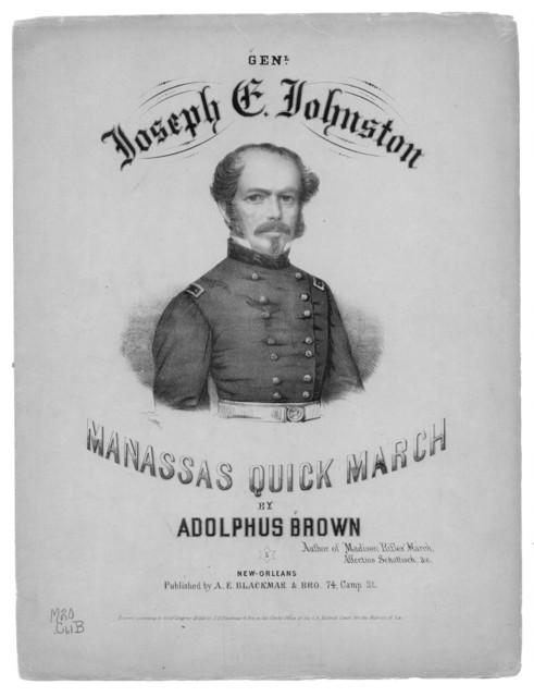 Gen. Joseph E. Johnston's Manassas quick march