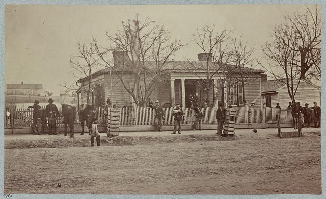 Gen. Sherman's headquarters, Chattanooga, Tenn.