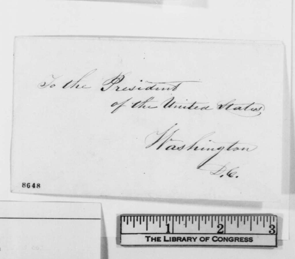 George Pendleton to Abraham Lincoln, Monday, April 01, 1861  (Seeks office)