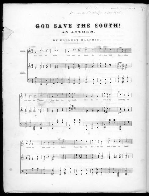 God save the south!