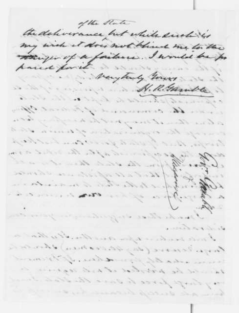 Hamilton R. Gamble to Montgomery Blair, Saturday, October 05, 1861  (Financial affairs)