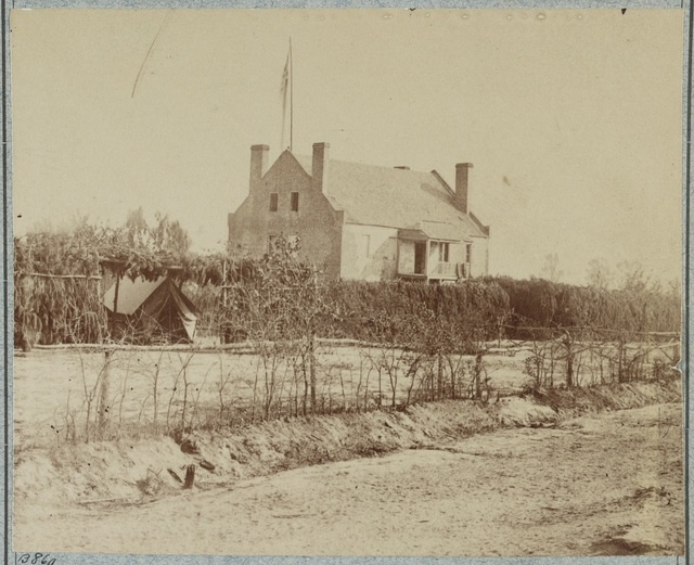 [Headquarters, 6th Army Corps, Warren Station, in front of Petersburg, Va.]