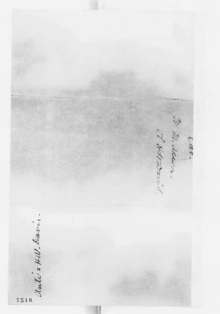 Hiram Barney to Abraham Lincoln, Wednesday, February 27, 1861  (Recommendation)