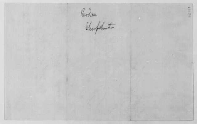 Hiram Berdan to Abraham Lincoln, September 23 [1861]  (Meeting with sharpshooter)