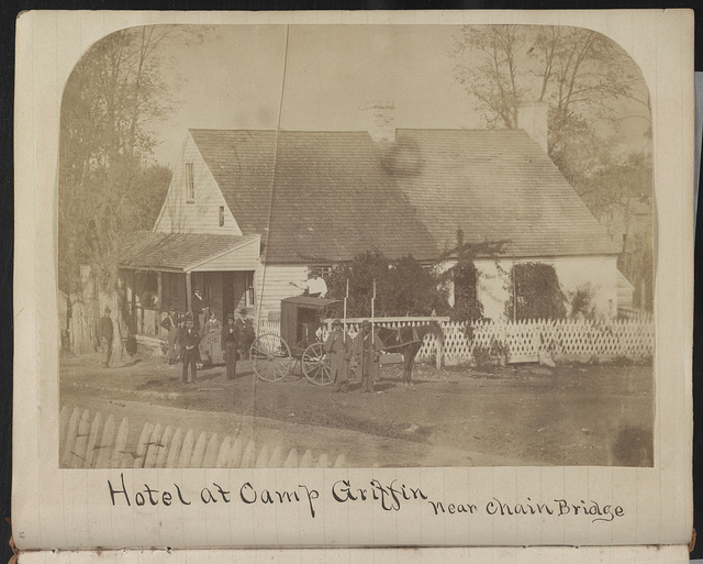Hotel at Camp Griffin, near Chain Bridge