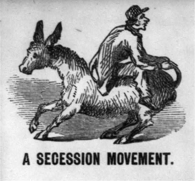 "[Illustrated Civil War ""Union Envelopes""]: A Secession Movement"