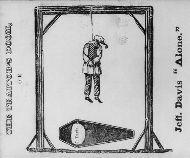 "[Illustrated Civil War ""Union Envelopes""]: The Traitor's Doom, or Jeff. Davis ""Alone"""