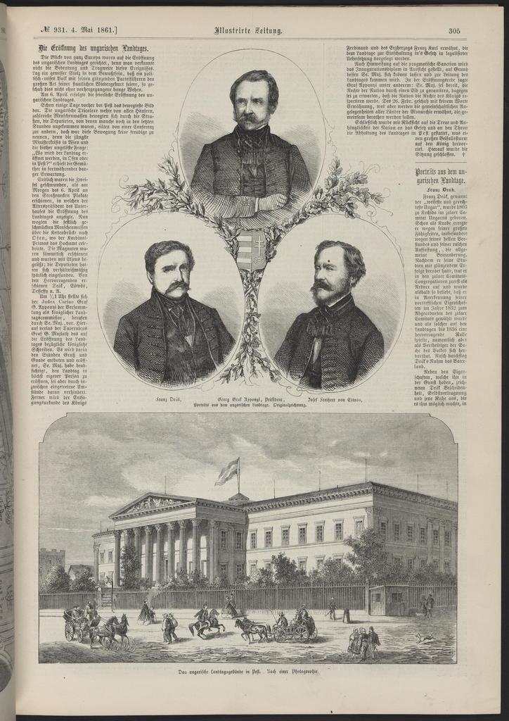 Illustrirte Zeitung, [newspaper]. May 4, 1861.