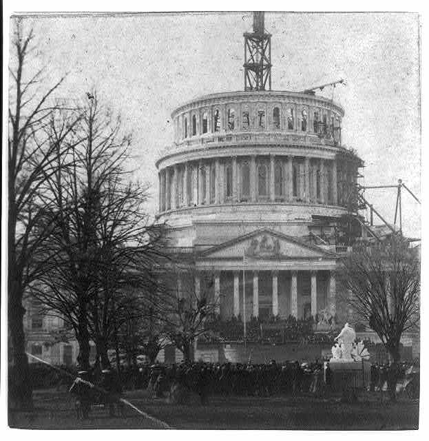 [Inauguration of Abraham Lincoln at the U.S. Capitol, 1861]